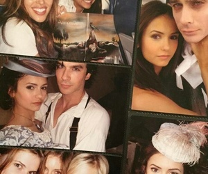 Nina Dobrev, Vampire Diaries, and elena gilbert image