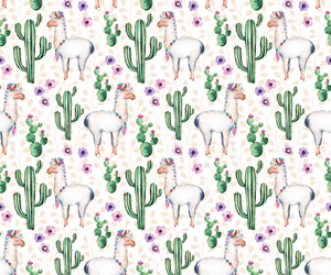 cactus, llama, and animal image