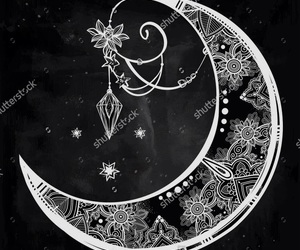 art, black&white, and cool image