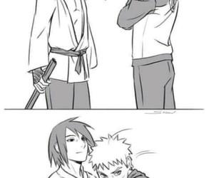 naruto, naruto uzumaki, and sasuke image