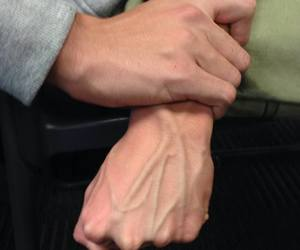 veins, grunge, and hands image