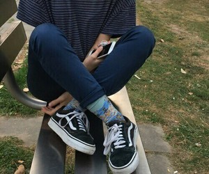 vans, tumblr, and grunge image