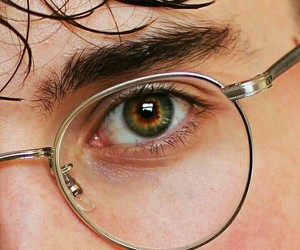 glasses, harry potter, and eyes image