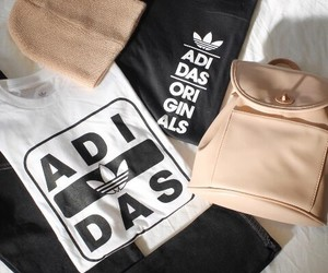 bags, beige, and adidas image