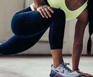 girl, nike, and fitness image