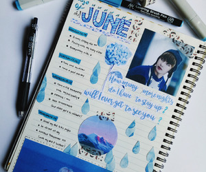 blue, inspiration, and study image