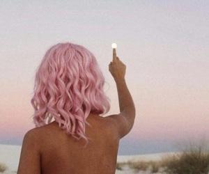 alternative, art, and pink image