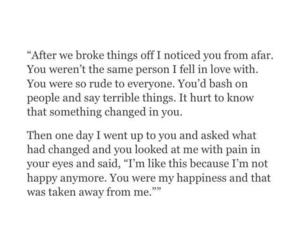 hurts, sad, and broke up image