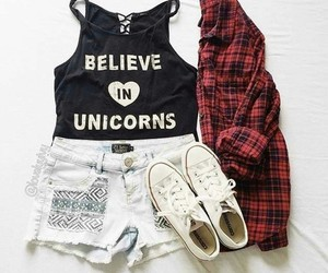 believe, unicorns, and style image
