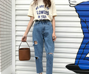 denim, fashion, and tumblr image