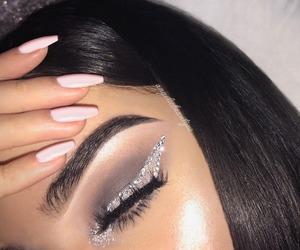cosmetics, nice, and girls things image
