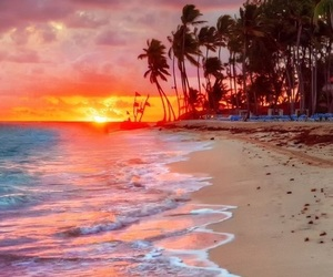 beach, hd, and landscape image