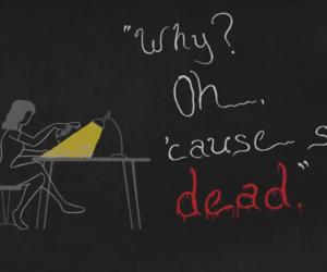 dead, Lyrics, and Taylor Swift image