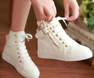 background, girl, and heels image