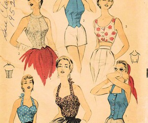 50s, fashion, and vintage image