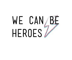 david bowie and we can be heroes image