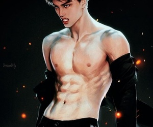 kai, exo, and fanart image