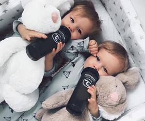 baby, boy, and twins image