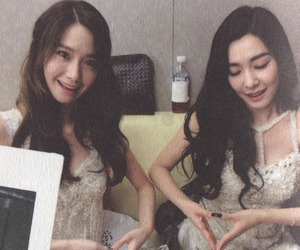 snsd, tiffany, and yoona image