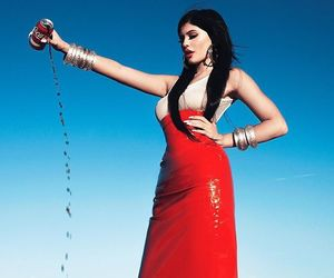 coca cola, coke, and kylie jenner image