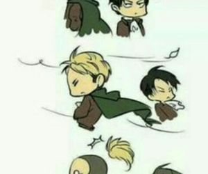 attack on titan, shingeki no kyojin, and funny image