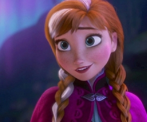 anna, frozen, and ginger image