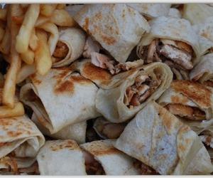 food, arab, and shawarma image