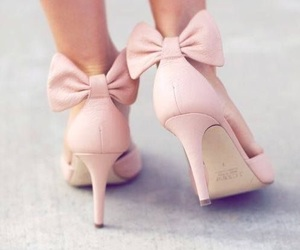 bow, girly, and shoes image