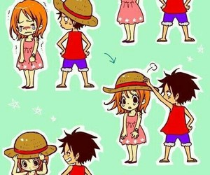one piece, pirate, and nami image