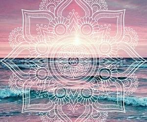 happiness, mandala, and ocean image