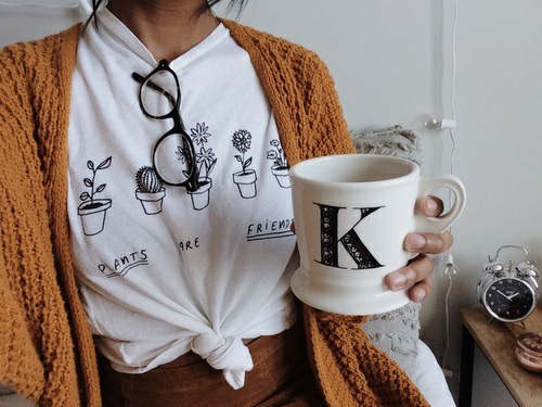 cup, glasses, and moda image