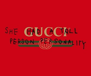 gucci, quote, and wallpaper image
