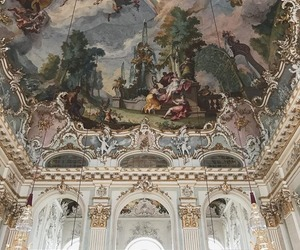 art, baroque, and interior image