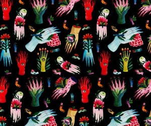pattern and hands image