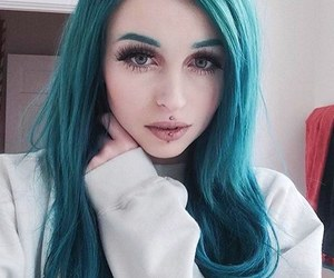 colorful, hairstyle, and tumblr image