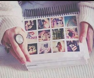 vintage, hands, and girl image