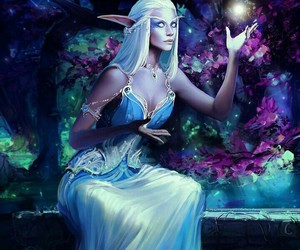 beautiful, fantasy, and world of warcraft image