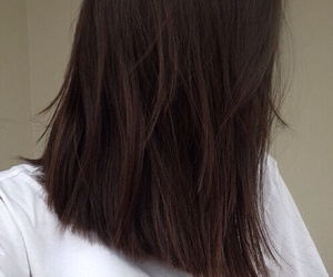 hair, grunge, and brown image