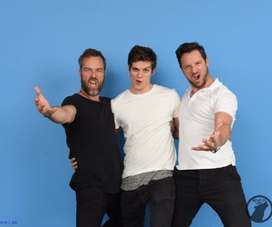 jr bourne, daniel sharman, and teen wolf image