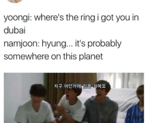 funny, jin, and k-pop image
