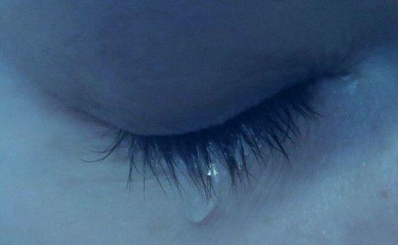 cry, sad, and pale image