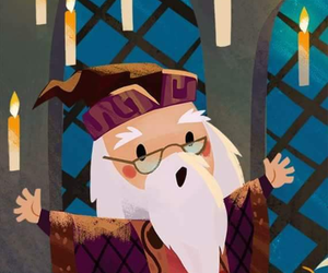 harry potter, dumbledore, and hp image