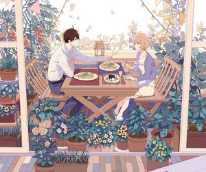 anime, beautiful, and couple image