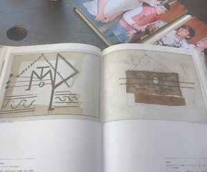beige, books, and picasso image