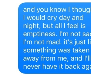 alone, empty, and heartbroken image