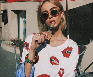 90s, fashion, and lips image