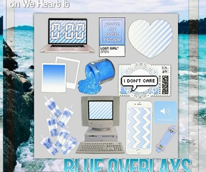 blue, png, and overlays image