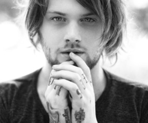asking alexandria, danny worsnop, and tattoo image