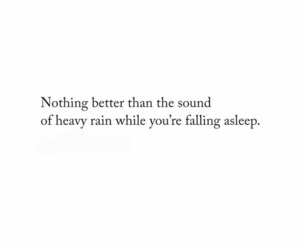 quotes, rain, and sleep image