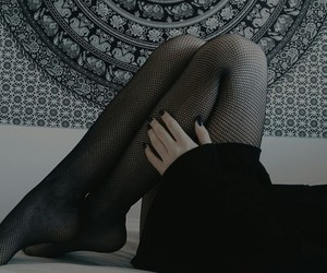 black, legs, and dark image